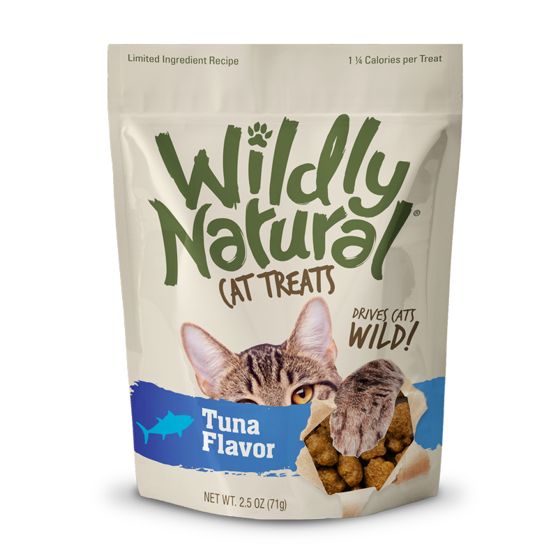 Wildly Natural Cat Treats Tuna Flavored