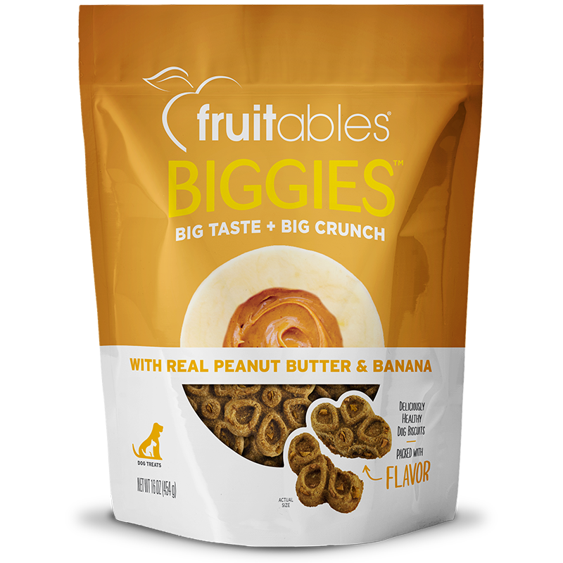 Fruitables Biggies Peanut Butter Banana
